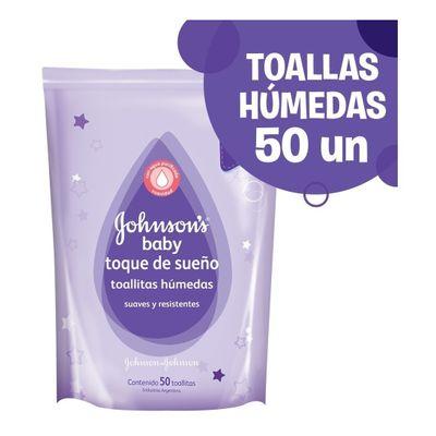 Johnson-s-Baby-Toallitas-Humedas-Toque-De-Sueño-X50-en-Pedidosfarma
