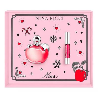 Perfume-Importado-Mujer-N.ricci-Nina-Edt-80-Ml---Lipstick-pedidosfarma