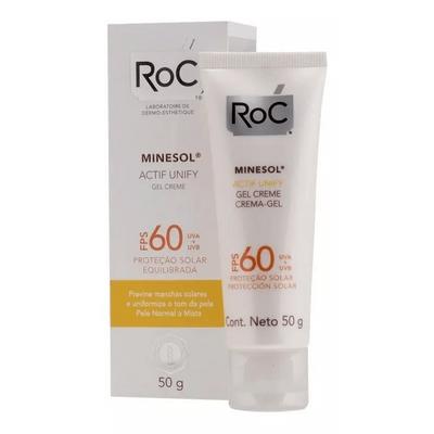 Roc-Minesol-Actif-Unify-Gel-Crema-Fps60-Protector-50grs-pedidosfarma