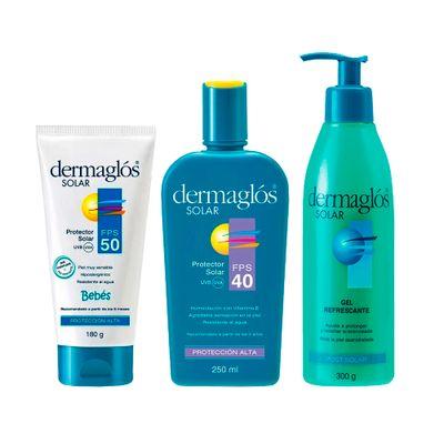 Combo-Dermaglos-Solar
