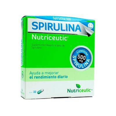 Nutriceutics-Spirulina-Fortalece-Las-Defensas-32-Capsulas