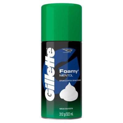 3014260273910-Gillette-Espuma-de-Afeitar-Foamy-Mentol-312gr