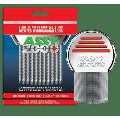 7791940020007-Assy-Peine-2000-para-Piojos-de-Acero-Dientes-Microacanalados