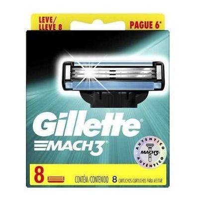 Gillette-Cartuchos-Repuesto-De-Afeitar-Mach3-8-Unidades-en-Pedidosfarma