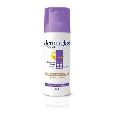 Dermaglos-Protector-Solar-Facial-Con-Fps-50-Con-Color-50gr-en-Pedidosfarma