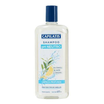 Capilatis-Shampoo-Limpieza-Profunda---Ph-Neutro-420-Ml-en-Pedidosfarma