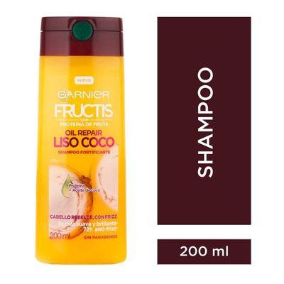 Garnier-Fructis-Shampoo-Oil-Repair-Liso-Coco-200-Ml-en-Pedidosfarma