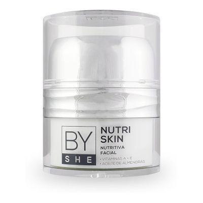 By-She-Hydra-Skin-Crema-Nutritiva-Facial-Pieles-Secas-50g-en-Pedidosfarma