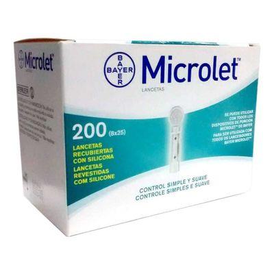 Microlet-Bayer-Lancetas-Para-Punzador-200-U-en-Pedidosfarma