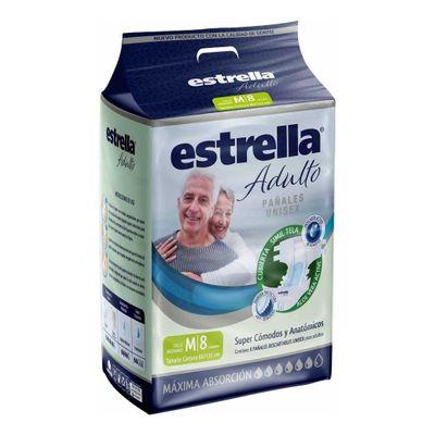 Estrella-Pañales-Adulto-Unisex-Mediano-8-Unidades-en-Pedidosfarma
