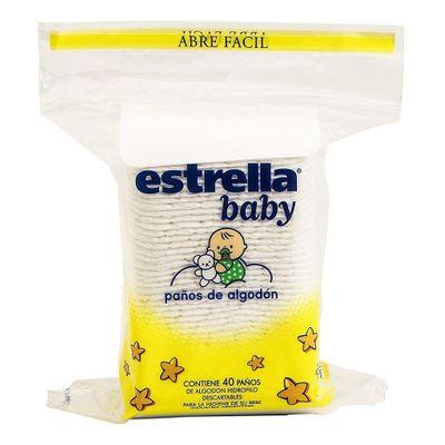 Estrella-Baby-Paños-De-Algodon-Pre-Cortado-40-Unidades-en-Pedidosfarma