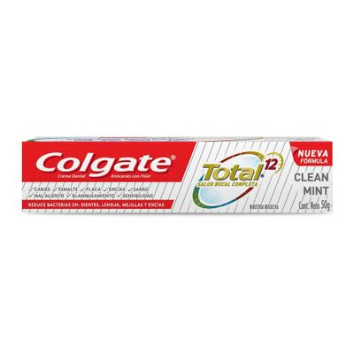 7891024033715-Colgate-Total-12-Crema-Dental-Clean-Mint-50gr