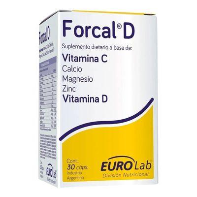 Forcal-D-30-Capsulas-Fortalece-La-Respuesta-Inmune-Eurolab-en-Pedidosfarma