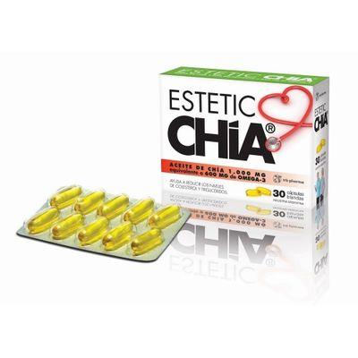 Estetic-Chia-Aceite-De-Chia--1000mg-Omega-3--60-Capsulas-en-Pedidosfarma