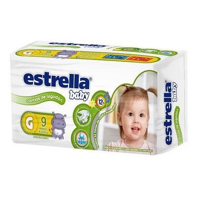 Estrella-Baby-Caricias-De-Algodon-Pañales-G-9-125-Kg-9-U-en-Pedidosfarma