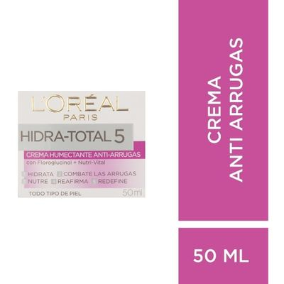 Loreal-Paris-Hidra-Total-5-Crema-Anti-Arrugas-X-50ml-en-Pedidosfarma