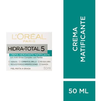 Loreal-Paris-Hidra-Total-5-Crema-Matificante-X-50ml-en-Pedidosfarma