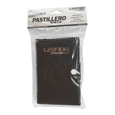 Lisfar-Pastillero-Portable-Mañana-Mediodia-Tarde-Noche-1-U-en-Pedidosfarma