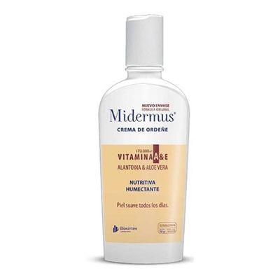 Midermus-Crema-De-Ordeñe-Y-Vitamina-A-Y-E-Dosificador-X-150g-en-Pedidosfarma