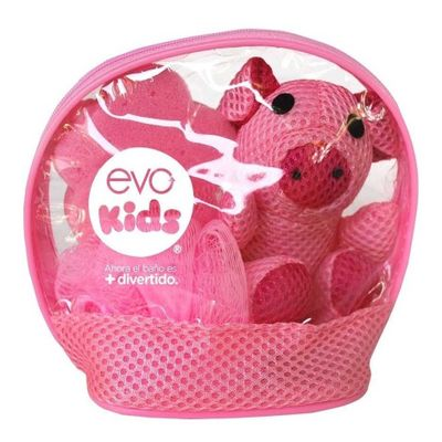 Evo-Kids-Chancho-Con-Neceser-De-Baño-Para-Niña-en-Pedidosfarma