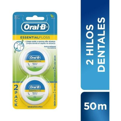 Oral-B-Essential-Floss-Hilo-Dental-25-M-X-2-Unidades-en-Pedidosfarma