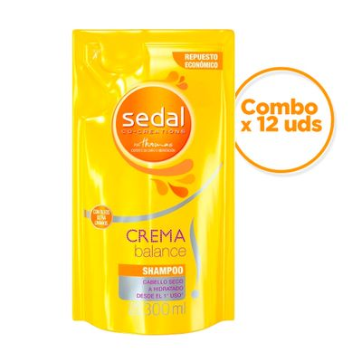 Sedal-Combo-Repuesto-De-Shampoo-Balance-300ml-X-12uds