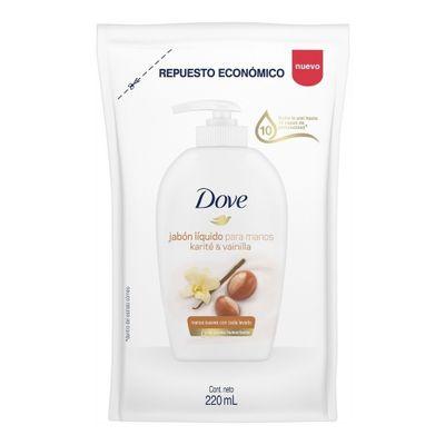 Dove-Karite-Y-Vainilla-Jabon-Liquido-Manos-Repuesto-X-220ml-en-Pedidosfarma