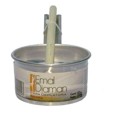 Emal-Diaman-Cera-Depilatoria-Negra-Cacerolita-150g-en-Pedidosfarma