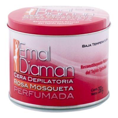 Emal-Diaman-Cera-Depilatoria-Rosa-Mosqueta-Lata-350g-en-Pedidosfarma