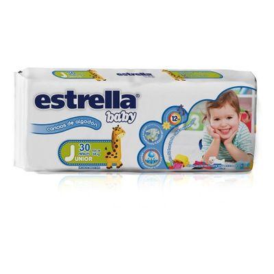 Estrella-Baby-Caricias-De-Algodon-Junior-X-30-Pañales---18kg-en-Pedidosfarma