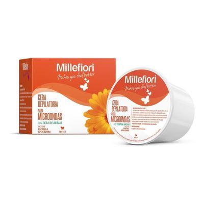 Millefiori-Cera-Depilatoria-Piel-Normal-Para-Microondas-180g-en-Pedidosfarma