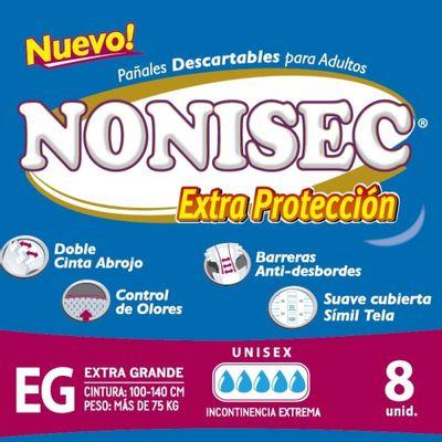 Nonisec-Extra-Protecion-Pañales-Para-Adultos-Xg-8-U-en-Pedidosfarma