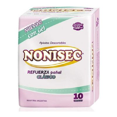 Nonisec-Refuerza-Pañal-Clasico-Descartables-10-Unidades-en-Pedidosfarma