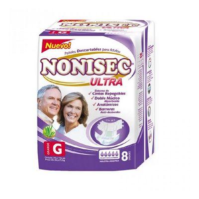 Nonisec-Ultra-Pañales-Para-Adultos-G-8-Unidades-45-A-75kg-en-Pedidosfarma