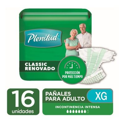 Plenitud-Clasic-Pañal-Para-Adultos-Talle-Xg-16-Unidades-en-Pedidosfarma