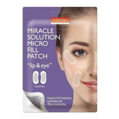 Purederm-Miracle-Solution-Micro-Fill-Patch-Lip---Eye-2-U-en-Pedidosfarma
