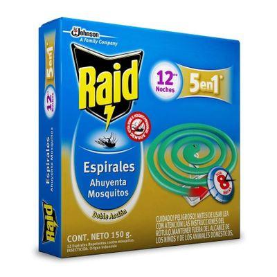 Raid-Espirales-Verde-Para-Mosquitos-5-En-1-X-12-Unidades-en-Pedidosfarma