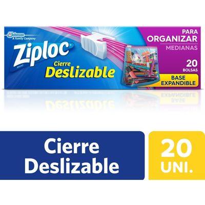 Ziploc-Bolsas-Para-Organizar-Y-Llevar-Mediana-X-20-Unidades-en-Pedidosfarma