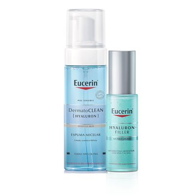 Eucerin-Combo-Hidratacion-Espuma-Micelar---Hydrating-Booster