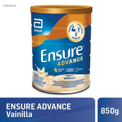 8710428998590Ensure-Advance-En-Polvo-850gr-Vainilla