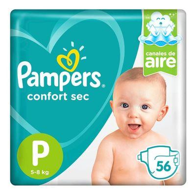 Pampers-Confort-Sec-Pañales-Pequeño-X-56-Unidades-en-Pedidosfarma