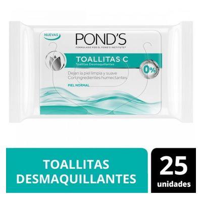 Ponds-C-Original-Toallitas-Demaquillantes-X-25-Unidades-en-Pedidosfarma