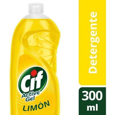 Cif-Active-Detergente-Lavavajilla-Gel-Limon-X-300-Ml-en-Pedidosfarma