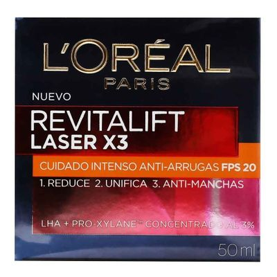 Loreal-Revitalift-Laser-X3-Crema-De-Dia-Anti-Manchas-50ml-en-Pedidosfarma
