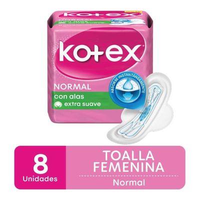 Kotex-Normal-Toallas-Femeninas-Con-Alas-8-Unidades-en-Pedidosfarma
