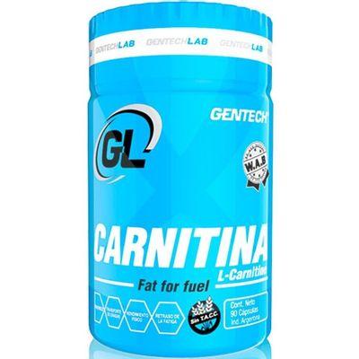 Gentech-Carnitina-Supresor-Apetito-Perdida-De-Grasa-90-Cap-en-Pedidosfarma