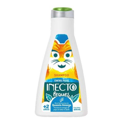 Inecto-Peques-Shampoo-Piojos-Quasia-Amarga--2-Años-400ml-en-Pedidosfarma