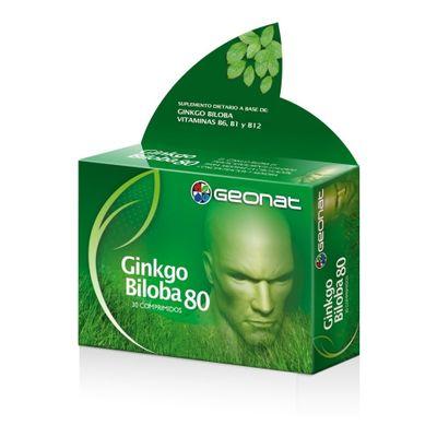 Geonat-Ginkgo-Biloba-80-Concentracion-Memoria-30-Comprimidos-en-Pedidosfarma