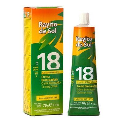Rayito-De-Sol-Crema-Bronzeadora-Con-Color-Fps18-70g-en-Pedidosfarma