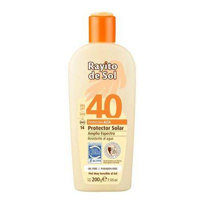 Rayito-De-Sol-Protector-Solar-Oil-Free-Emulsion-Fps40-200g-en-Pedidosfarma